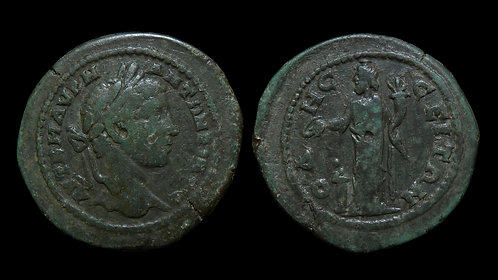 ELAGABALUS . THRACE, Odessus . AE28 . Great God of Odessus