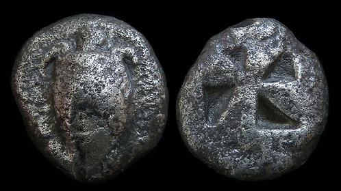ATTICA, Aegina . Circa 525-480 BC . AR Stater . Amongst the earliest Greek coins