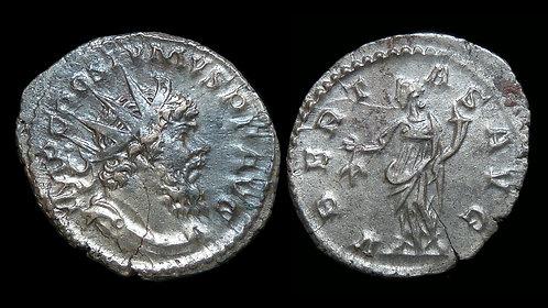 POSTUMUS, Usurper . AD 260-269 . Billon Antoninianus . Uberitas