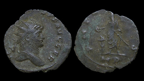 GALLIENUS . AD 253-268 . AE Antoninianus . Milan mint . **Pedigreed**