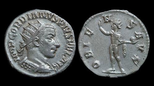 GORDIAN III . AD 238-244 . Antoninianus . Antioch . *Richard McAlee Collection*