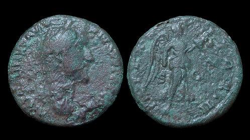 ANTONINUS PIUS . AD 138-161 . AE As . Commemorating British Victory
