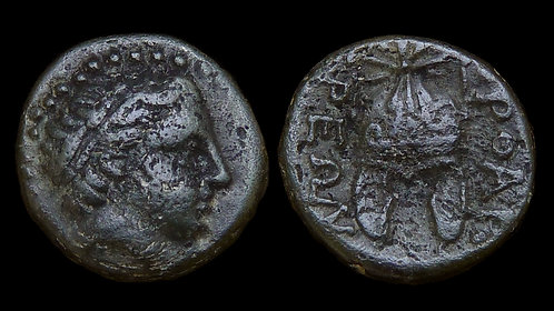 THRACE, Orthagoreia  . 340-300 BC . AE13 . *Rare issue of an undiscovered city*