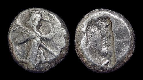 PERSIA, Achaemenid Empire . Xerxes I to Darios II, circa 485-420 BC .  AR Siglos