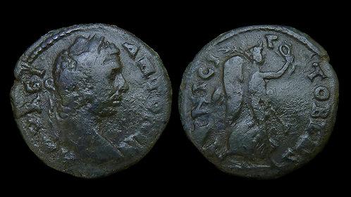 CARACALLA . MACEDON, Stobi . AE23 . Victory . Ex Roma Numismatics
