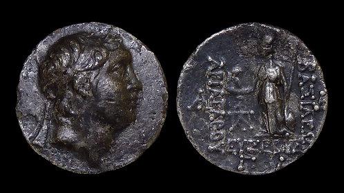 CAPPADOCIA, KINGDOM OF . Ariarathes V Eusebes Philopator, 163-160 BC . AR Drachm