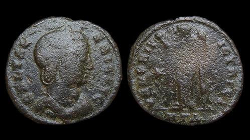 """GALERIA VALERIA . Died AD 315 . Follis . """"VENERI VICTRICI"""""""