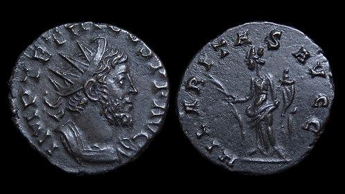 """TETRICUS I, Usurper . AD 271-274 . Antoninianus . """"Hilaritas"""""""