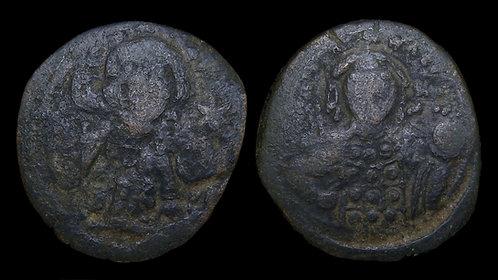 BYZANTINE EMPIRE . Michael VII Ducas, AD 1071-1079 . AE Follis . Constantinople