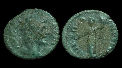 SEPTIMIUS SEVERUS . MOESIA INFERIOR, Nicopolis ad Istrum . AE16 . Goddess Hera