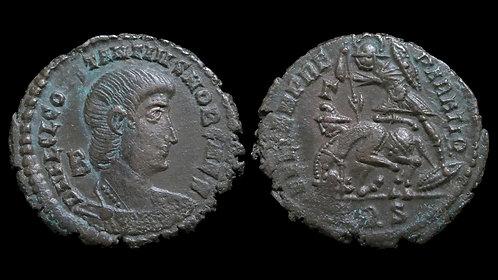 CONSTANTIUS GALLUS . AD 351-354 . AE2 . **Ex Dattari** A 100-year old pedigree
