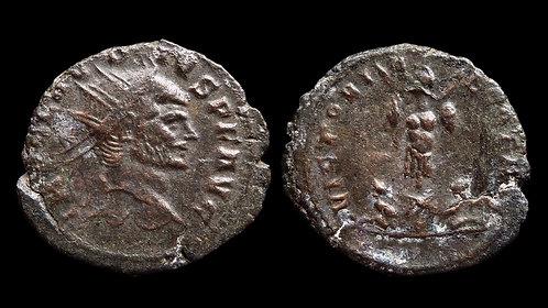 """CLAUDIUS II GOTHICUS . AD 268-270 . Antoninianus . """"VICTORIAE GOTHIC"""""""