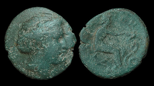 THESSALY, Trikka . 3rd Century BC . AE22 . Birthplace of Asklepios . *Ex BCD*