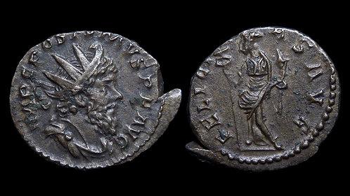 """POSTUMUS, Usurper . AD 260-269 . Antoninianus . """"FELICITAS AVG"""""""