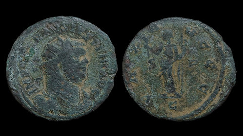 "CARAUSIUS, Usurper . AD 286-293 . AE Antoninianus. Ancient fake news ""PAX AVGGG"""