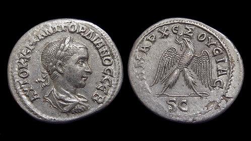 GORDIAN III . SYRIA, Seleucia and Pieria, Antioch . AR Tetradrachm