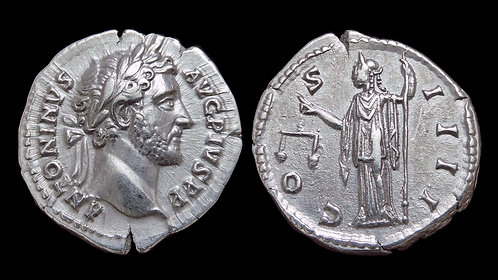 ANTONINUS PIUS . AD 138-161 . AR Denarius . Aequitas