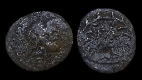 ELIS, Olympia . Mid-Late 2nd century BC . AE21 . Coinage from the Olympic city
