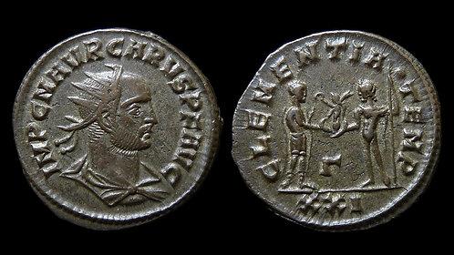 """CARUS . AD 282-283 . Antoninianus . """"CLEMENTIA TEMP"""""""