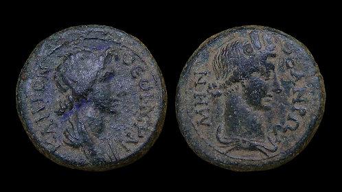 PSEUDO-AUTONOMOUS . MYSIA, Pergamum . 1st century AD . AE17 . Roma/Senate