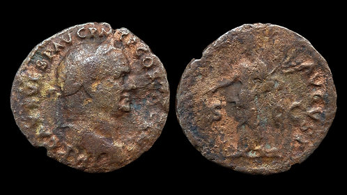 "VESPASIAN . AD 69-79 . As . ""Pax"""