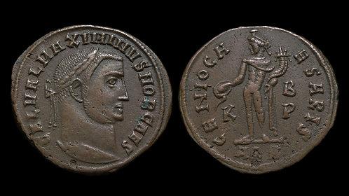 MAXIMINUS II DAIA . AD 310-313 . AE Follis . GENIO CAESARIS . Alexandria mint