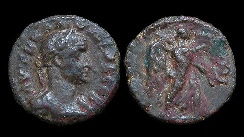 CLAUDIUS II GOTHICUS . EGYPT, Alexandria . Potin Tetradrachm . Nike