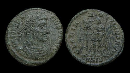 """CONSTANTIUS II . AD 337-361 . AE3 . """"GLORIA ROMANORVM"""""""