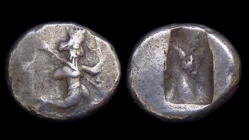 PERSIA, Achaemenid Empire . Darios I - Xerxes II, circa 485-420 BC .  AR Siglos