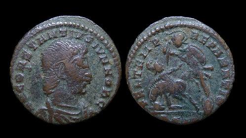 """CONSTANTIUS GALLUS, Caesar . AD 351-354 . AE3 . """"Fallen Horseman"""" . Siscia"""