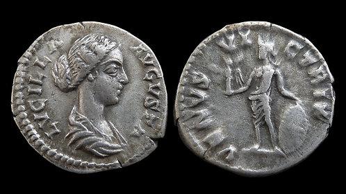 "LUCILLA . AD 164-169 . Denarius . ""VENVS VICTRIX"" . Ex A.K. Collection"