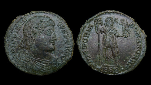 JOVIAN . AD 363-364 . AE1 . Very Large, 28mm Late Roman Bronze . *Scarce*