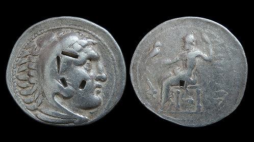 MACEDONIAN KINGDOM . Alexander the Great, 336-323 BC . AR Tetradrachm .