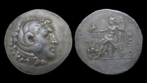 AEOLIS, Temnos . 188-170 BC . AR Tetradrachm . Alexander the Great type . 35mm!!