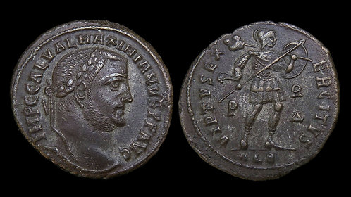 GALERIUS . AD 305-311 . AE Follis . Ex Dattari **A 100-year old provenance**