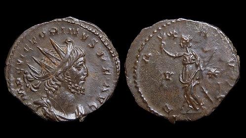 "VICTORINUS, Usurper . AD 269-271 . Antoninianus . ""Pax"" . Well-struck"