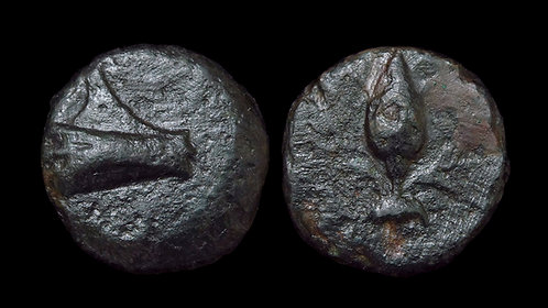 GREEK, Uncertain . AE11 . *Ex BCD Coll* . Extremely Rare: 1 of 2 known examples