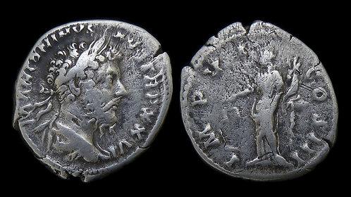 MARCUS AURELIUS . AD 161-180 . AR Denarius . Aequitas, Goddess of Fair Trade