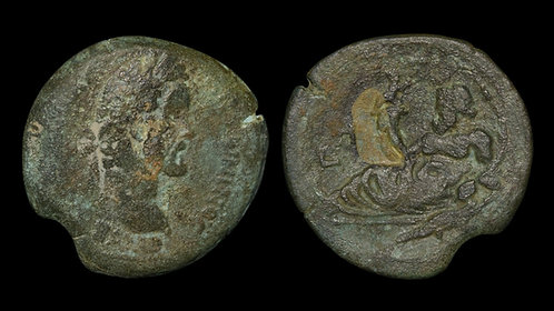 ANTONINUS PIUS . EGYPT, Alexandria . AE Drachm . Ex Art Institute of Chicago