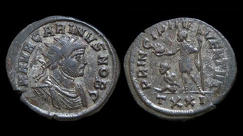 """CARINUS, as Caesar . AD 282-283 . Antoninianus . """"Prince of Youth"""""""