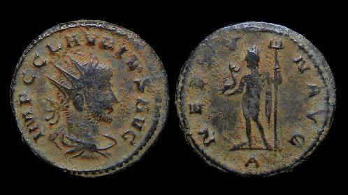 """CLAUDIUS II GOTHICUS . AD 268-270 . Antoninianus . """"Neptune"""""""
