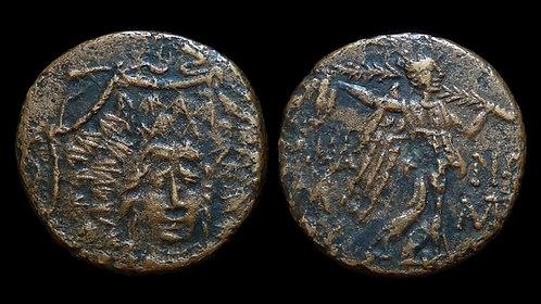 PONTOS, Komana . Mithradates VI, 120-63 BC . AE19 . City of the goddess Ma