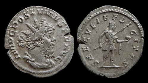 """POSTUMUS, Usurper . AD 260-269 . Antoninianus . """"SAECVLI FELICTAS"""""""