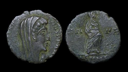 DIVUS CONSTANTINE I, Posthumous . AD 306-337 . AE4 . Nicomedia