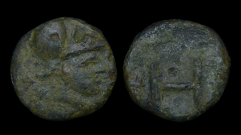ARKADIA, Heraia . Mid 3rd century BC . AE14 .  Ex BCD Collection *Rare*