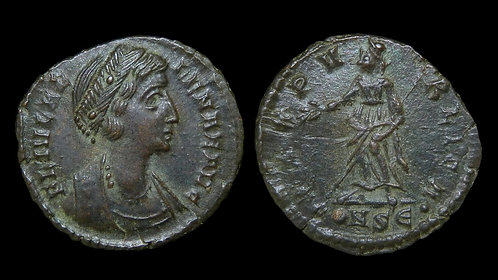 "HELENA, Mother of Constantine I . AD 324-328/330 . AE4 . ""Pax"""