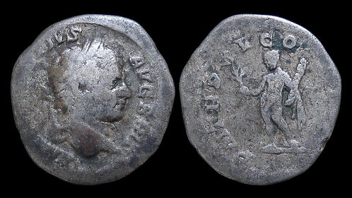 CARACALLA . AD 198-217 . AR Denarius . Struck after murdering his brother