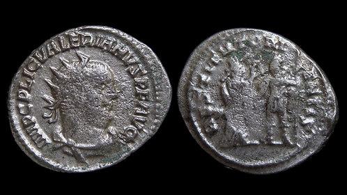 VALERIAN . AD 253-260 . Antoninianus . From the Antioch Hoard of Gallienus