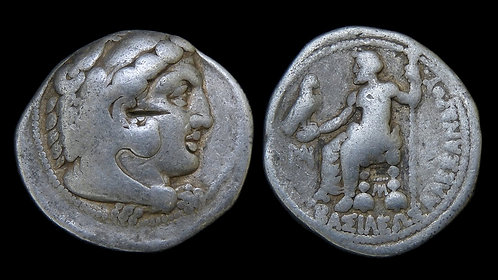 MACEDONIAN KINGDOM . Alexander the Great, 336-323 BC . Tetradrachm . *Lifetime*