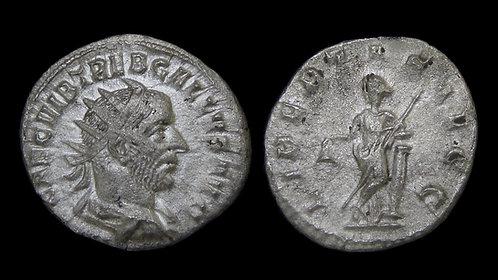 TREBONIANUS GALLUS . AD 251-253 . AR Antoninianus . Libertas
